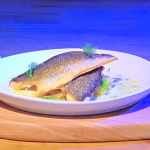 Jack Stein pan-fried sea bream with garlic and fennel recipe on Steph's Packed Lunch