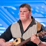 Ryan Mathie a van mechanic performs Jolene at his X Factor 2013 auditions