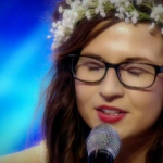 Abi Alton sings Livin' On A Prayer on The X Factor 2013 live shows week 1 – 80s week