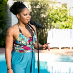 LORNA SIMPSON sings If I Were a Boy by Beyonce at Judges Houses in Beverley Hills