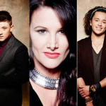 Songs Sam Bailey, Luke Friend and Nicholas McDonald will sing at the O2 Arena in a bid to supports Beyonce on Tour