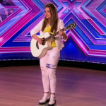 Emily Middlemas singing Yellow by Coldplay at The X Factor 2014 Arena Auditions