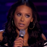 Why did Mel B not appear on the X Factor 2014 final  at the Wembley  Arena?