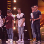 X Factor new boyband singing Run by Leona Lewis at bootcamp  2014