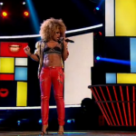 Fleur East All About That Bass on The X Factor 2014 first live show