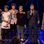 Who was voted off The X Factor 2014 first results show?
