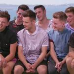 New X Factor boy band  singing Justin Timberlake's Mirrors  Judges House in Bermuda