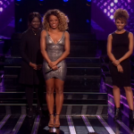 Fleur East sings I'm Every Woman  and performed with friends and family on The X Factor 2014