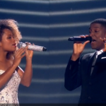 Fleur East duet with Labrinth on The X Factor 2014 final with see beneath your beautiful