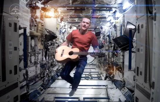 astronaut chris hatfield