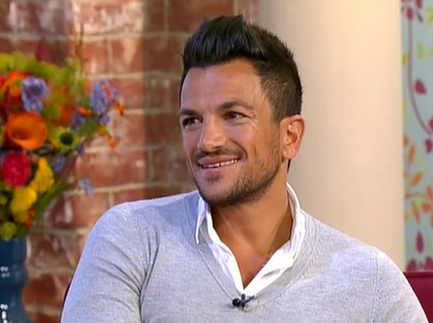 peter andre this morning